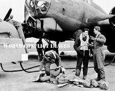 USAAF WW2 B-17 Bomber Pistol Packin Mama #7 8x10 Nose Art Photo 379th BG WWII