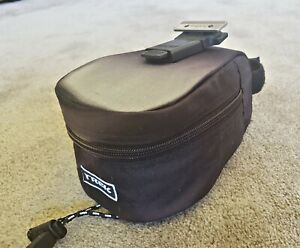Trek Bike Brand Collapsible Wedge Saddle Bag With Quick Detach Underseat Mount
