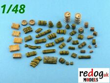1:48  stowage kit / diorama modelling military accessories - 50 pieces 48/2