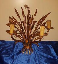Florentiner Lampe Ähren Hängelampe gold 5 flammig