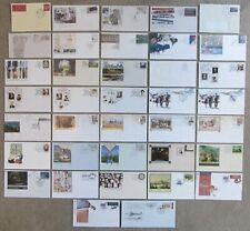 +++ AUSTRALIA PRE-STAMPED FIRST DAY of ISSUE POSTAL STATIONERY 1990 to 1993 +++