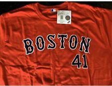 Boston Red Sox CHRIS SALE #41 MLBPA Star Power Youth Boys Cotton Tee Shirt Red