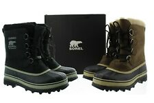 Sorel Men's Caribou Faux Fur Waterproof Round Toe Winter Snow Boots, NM1000
