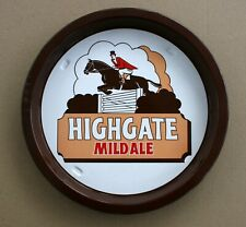 HIGHGATE MILD ALE Pub Beer Advertising tray Retro