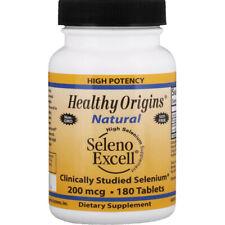 Healthy Origins Seleno Excell Sélénium 200mcg 180 Comprimés Thyroïde Fonction