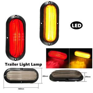 2X LED Car Truck Turn Reverse Heavy Guiding Tail Lamp Stop Rear Brake Light Part