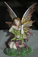 fee,elfe,11x7cm,figur,skulptur,fairy,flügel,mystik,magie,magiewesen,