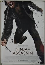 NINJA ASSASSIN DS ROLLED ORIG 1SH MOVIE POSTER MARTIAL ARTS ACTION (2009)
