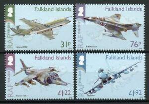 Falkland Islands Aviation Stamps 2018 MNH RAF Royal Air Force Typhoon 4v Set