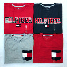 Tommy Hilfiger T-Shirt Mens Crew Neck Tee Classic Fit Short Sleeve Shirt