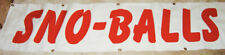 Concession Signs Set Of 6 Giant Lettering Easy To Read Easy To Store Hmw 26