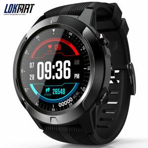 LOKMAT TK04 Full Touch Screen Smart watch Men SIM Card Waterproof Sport GPS