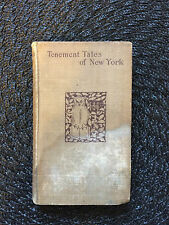 Tenement Tales of New York J W  Sullivan 1895 Henry Holt & Co First Edition