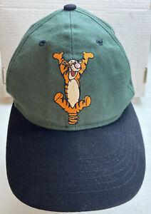Vintage Disney Hat Adult Snapback Tigger Winnie The Pooh Dad Hat