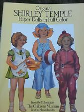 Shirley Temple Paper Dolls Book NEW