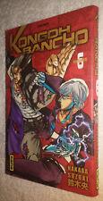 Manga: Kongoh Bancho Tome 6 VF Kana Nakaba Suzuki Rare