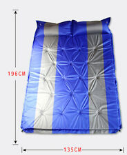 Double Camping Mattress Inflating Airbed Self Inflate Roll Up Foam Sleeping Mat