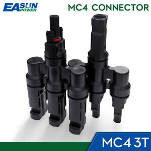 3T Stecker Solar PV Multi Parallel Zweig Stecker M/FM Solar Panel Kabel Koppler