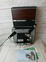 BELL & HOWELL Autoload Super 8 Movie Projector 462A Motion Tested Needs Bulb