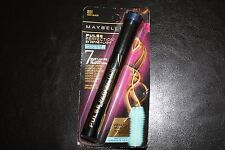 Maybelline Pulse Perfection Mascara WATERPROOF # 851 VERY BLACK NEW. Vibrating