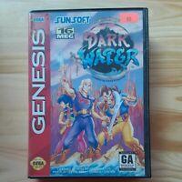 The Pirates of Dark Water Sega Genesis 1994  Box and Game Only No Manual
