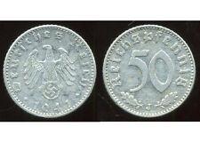 ALLEMAGNE  WW II     50 reichspfennig  1941 J