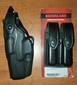 Safariland 6360 STX Mid-Ride Glock 17,19,19x,20,21,23,31 Level III ALS LH Combo