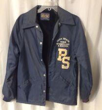 Vintage Penn State Letterman Jacket Wrestling Soccer Pins