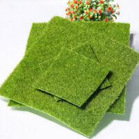 Simulation Artificial Grass Moss Mat Fake Garden Plants Wall Landscape Decor
