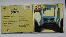 CD  Peter Gabriel  –  Peter Gabriel Charisma – 800 091-2 GERMANY 1983