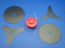 Set Coltelli+Fadenspule per Berlan BMS520A Decespugliatore