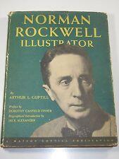 Norman Rockwell Ilustrator Book- Arthur L. Guptill- 1st Edition 1946