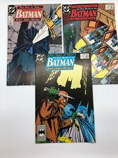 The Many Deaths of the Batman 433 434 435 DC Comics Lot #D55