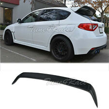 For 08-14 Subaru Impreza WRX STI Hatch Rear Spoiler Wagon Body Kit Add On Wing