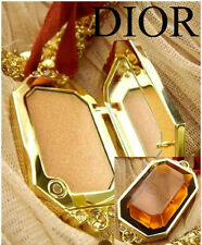 100% AUTHENTIC RARE Edition GOLDEN DIOR BRONZE LUMINIZING Makeup JEWEL Necklace