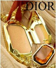 100% AUTHENTIC RARE Edition GOLDEN DIOR BRONZE LUMINIZING Makeup JEWEL Necklace