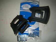 Wellgo Mountain bike cycle / bike pedal  strapless toe clips with  fittings