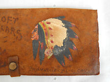 Antique Soft Collars Hand Painted Wallet