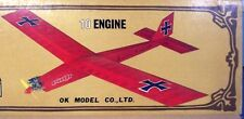 "DAS BOX FLY 10MG PLANS + COMPLETE PARTS PATTERNS to Build a 59"" RC Model Plane"