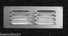 10 Pack x Polished Aluminium Air Vent 242 x 89mm - Silver