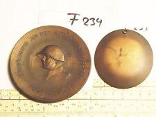 Medaille Schweiz Erinnerung an den Aktiven Diernst 1939-1940 Füs.Kp.I/75 (F234-)