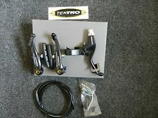 New Tektro V brake kit includes brake lever cable noodle and housing