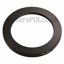 77mm to 58mm Male-Female Stepping Step Down Filter Ring Adapter 77-58 77mm-58mm