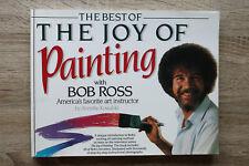 Buch Bob Ross BEST of Joy of Painting 1993 Anleitung 60 Bilder Ölmalerei Technik