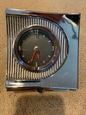 1960 Mercury Dash Clock Not Tested Nice Chrome