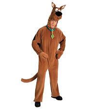 Morris Costume Unisex Scooby Doo Adult Zipper Front Closure Plush Costume. AA222