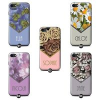 Personalized Custom Floral Phone Case/Cover for Nokia Lumia SmartPhone Initial