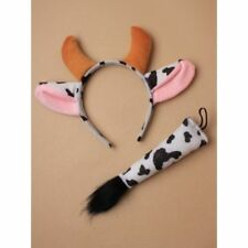 Cow Costume Animal Fancy Dress Ears and Tail World Book Day Costumes