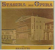 Verdi: Rigoletto / Molajoli, Stracciari, Capsir - LP Emi Columbia NM / EX