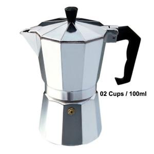 Italian Style Espresso Maker 2, 6 & 12 Cup Stove Top Coffee Percolator Moka Pot